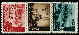 CE2099 De Occupies Croatia 1942 City Scenery Building Stamped 3V MNH - Croazia