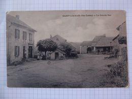 Cpa  Saint Germain Haute Saône 70 Grande Rue - Autres Communes