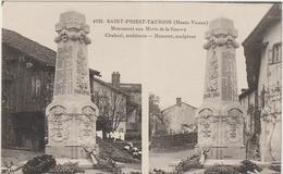 Haute  Vienne : SAINT  PRIEST - TAURION  : Vue  Monument - Saint Priest Taurion