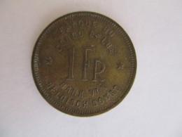 Congo Belge 1 Franc 1946 - Congo (Belge) & Ruanda-Urundi