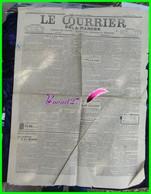 Ancien Journal - LE COURRIER DE LA MANCHE - édition Du Dimanche 23 Juillet 1922 - Journal Des Intérêts Du Département - Newspapers