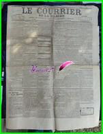 Ancien Journal - LE COURRIER DE LA MANCHE - édition Du Dimanche 30 Juillet 1922 - Journal Des Intérêts Du Département - Newspapers
