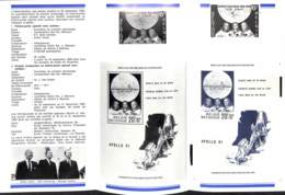 [1023]TB//**/Mnh-N° 1508 + BL46, Apollo XI, Premier Alunissage, Astronautes + Module Liunaire 'Eagle', Dans Le Fascicule - Espace