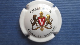 CAPSULE CHAMPAGNE CHARLES VINCENT. Blanche - Zonder Classificatie
