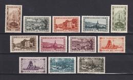 Saarland - 1926/27 - Michel Nr. 108/118+120 - Ungebr. - 1920-35 Société Des Nations