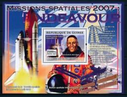 [402049]TB//**/Mnh-Guinée 2007 - Mission Spatiale , Endeavour, Fusée, ISS - Espace