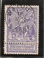 Belgique N°71 Watou - 1894-1896 Expositions