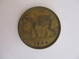 Congo Belge 1 Franc 1944 - Congo (Belge) & Ruanda-Urundi