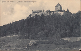 Ansichtskarte Stein Am Rhein Schloss Hohenklingen, STEIN SCHAFFHAUSEN 4.11.24 - Ohne Zuordnung