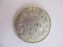 Serbie 2 Dinar 1915 - Serbie