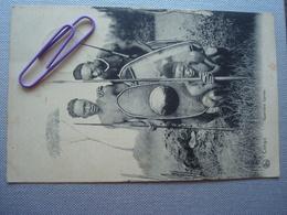 CONGO BELGE : Guerriers UPOTO En 1908 - Congo Belge - Autres