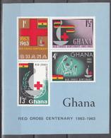 1963  Yvert Nº HB 8  MNH,  Centenario De La Fundación De La Cruz Roja Internacional. - Ghana (1957-...)