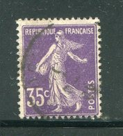 FRANCE- Y&T N°142- Oblitéré - Usati