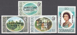 1979  Yvert Nº 634 / 637   MNH,   Intereses Locales, - Dominica (1978-...)