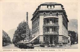 PIE.T.19-9471 : GRENOBLE. HOTEL GAMBETTA. - Grenoble