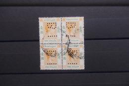HONG KONG - Bloc De 4  Du 1 Dollar Perforé - A Voir  - L 40617 - Used Stamps