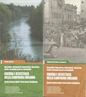 Bastiglia, Bomporto, Nonantola E Ravarino, Carta Storica Cm. 60 X 45; Itinerari Opuscolo 32 Pp., Terza Zona Partigiana. - Guerra 1939-45