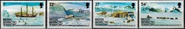 MVS-BK1-292 MINT ¤ BRITISH ANTARCTIC 1985 4w In Serie ¤ MARITIEM - VOILIERS - ZEILSCHEPEN - SAILING SHIPS OVER THE WORLD - Maritiem