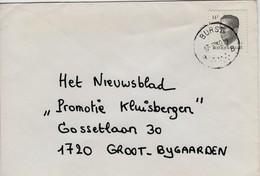 Poststempel  BURST B......B  - Op Opc.nr 2352 - Marcofilia