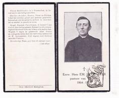 DP Foto - EH Emiel De Zutter ° Kanegem Tielt 1864 † Vladslo Diksmuide 1923 / Sint-Baafs-Vijve Wielsbeke Esen Koekelare - Images Religieuses