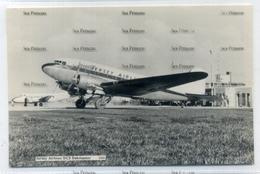 Jersey Airlines Douglas DC3 Dakmaster At Guernsey Airport By Guernsey Press 1960s Postcard  G-ANLN - 1946-....: Era Moderna