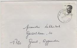 Poststempel  AAIGEM C  - Op Opc.nr 2352 - Marcofilia