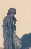 Illustratori - Illustrateurs - Illustratoren - Artist Signed -  Kirchner   -   Femme Du Monde  - - Kirchner, Raphael