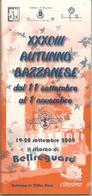Bazzano, Programma 13° Autunno Bazzanese 19/20.9.2009, Opuscolo Illustrato 60 Pagg. - Turismo, Viaggi