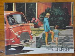 RENAULT ESTAFETTE ALOUETTE   PUBLICITE PROSPECTUS  DEPLIANT POSTER 12 PAGES  31 X 22.5CM - Trucks