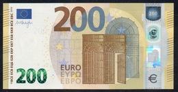 "ITALIA € 200 SB S004 ""00""  DRAGHI   UNC - EURO"