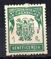 Sello Municipal  Ayuntamiento De Cacabelos. - España