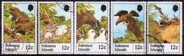 SOLOMON ISLANDS 1982 SG #461//66 Part Set (missing Only 1 Stamp, Fledgelings) Used Sanford's Sea Eagle - Solomon Islands (1978-...)