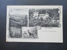 AD 1916 Mehrbildkarte Gruß Aus Waltershausen Hotel Pilippshöhe. Verlag Von Johann Weiss, Waltershausen - Gruss Aus.../ Grüsse Aus...