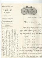 Facture Velos-motos Morant à Hannut - Belgique