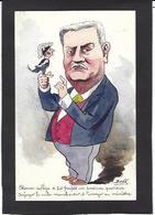 CPA Bobb Satirique Caricature Non Circulé Dessin Original Fait Main Etienne Préfets - Satirisch