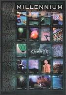 EC110 LIBERIA MILLENNIUM 2000 THE HISTORY OF CHANGE 1SH MNH - Geschichte