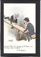CPA Bobb Satirique Caricature Non Circulé Dessin Original Fait Main Grèves - Satirical