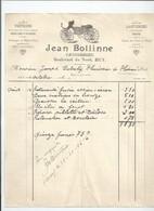 Facture Carossier Bolline à Huy - Belgique