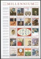 EC119 ST.VINCENT MILLENNIUM 1900 TO 1950 1SH MNH - Geschichte