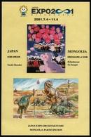 Mongolei 2001 - Mi-Nr. 3319-3323 ** - MNH - Prähistorische Tiere - Mongolia