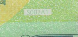 ITALIA 100 EURO SE S002 A1 -  FIRST POSITION - DRAGHI  UNC - EURO