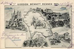 TAUNUS - GORDON BENNETT RENNEN 1904 I-II - Ansichtskarten