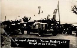 Motorsport Bad Homburg (6380) Taunus Automobil Rennen FOTO KEINE AK I-II - Ansichtskarten
