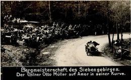 Motorsport Bergmeisterschaft Des Siebengebirges Otto Müller Auf Amor FOTO KEINE AK I-II - Ansichtskarten