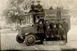 Oldtimer Omnibus Foto AK I-II - Ansichtskarten