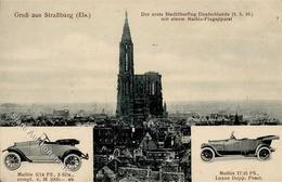 Oldtimer Strasbourg (67000) Frankreich Mathis I-II - Ansichtskarten