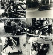 Auto VW Lot Mit 6 Fotos Ca. 10 X 6,5 Cm I-II - Ansichtskarten