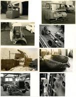 Auto Bückeburg (3062) Karosseriefabrik Harmening Lot Mit 5 Foto-Karten Und 3 Fotos I-II - Ansichtskarten