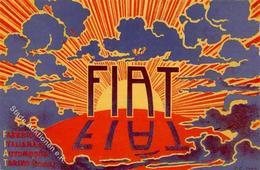 Auto Fiat Werbung Künstler-Karte I-II Publicite - Ansichtskarten