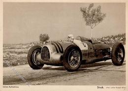 Auto Motorsport Stuck, H. Rennfahrer I-II - Ansichtskarten